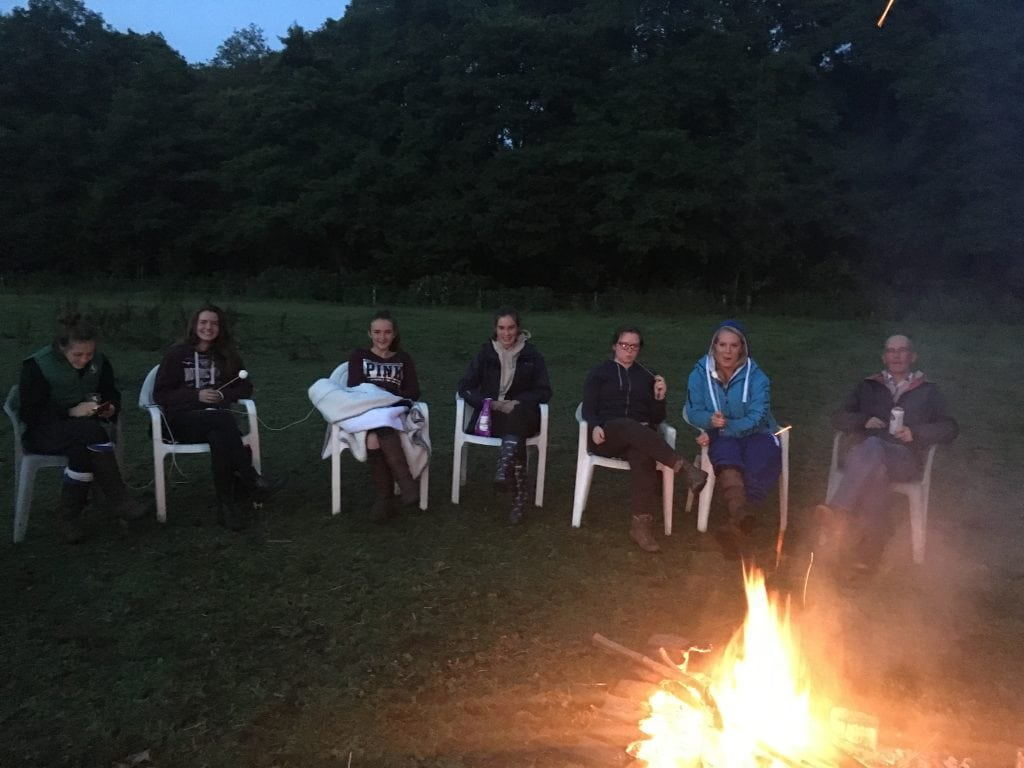 Round the campfire